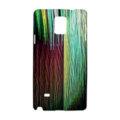 Screen Shot Line Vertical Rainbow Samsung Galaxy Note 4 Hardshell Case by Mariart