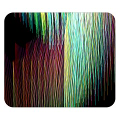 Screen Shot Line Vertical Rainbow Double Sided Flano Blanket (small)  by Mariart