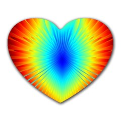 View Max Gain Resize Flower Floral Light Line Chevron Heart Mousepads by Mariart