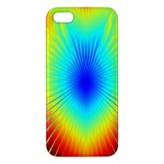 View Max Gain Resize Flower Floral Light Line Chevron Iphone 5s/ Se Premium Hardshell Case by Mariart