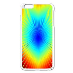 View Max Gain Resize Flower Floral Light Line Chevron Apple Iphone 6 Plus/6s Plus Enamel White Case by Mariart