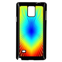 View Max Gain Resize Flower Floral Light Line Chevron Samsung Galaxy Note 4 Case (black) by Mariart