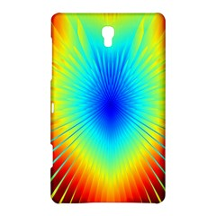 View Max Gain Resize Flower Floral Light Line Chevron Samsung Galaxy Tab S (8 4 ) Hardshell Case  by Mariart