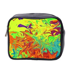Colors Mini Toiletries Bag 2 Side by Valentinaart