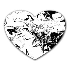 Colors Heart Mousepads by Valentinaart