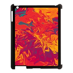 Colors Apple Ipad 3/4 Case (black) by Valentinaart