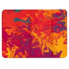 Colors Samsung Galaxy Tab 7  P1000 Flip Case by Valentinaart
