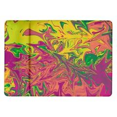 Colors Samsung Galaxy Tab 10 1  P7500 Flip Case by Valentinaart