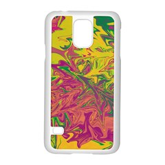Colors Samsung Galaxy S5 Case (white) by Valentinaart