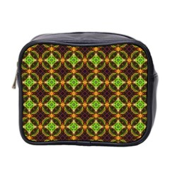 Kiwi Like Pattern Mini Toiletries Bag 2 Side by linceazul