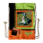 Spooky Halloween - Drawstring Bag (Large)