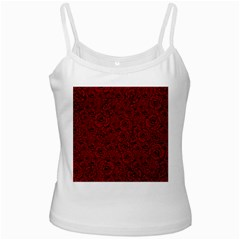 Red Roses Field Ladies Camisoles