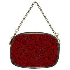 Red Roses Field Chain Purses (one Side)