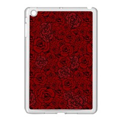 Red Roses Field Apple Ipad Mini Case (white)