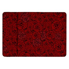 Red Roses Field Samsung Galaxy Tab 8 9  P7300 Flip Case