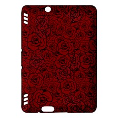 Red Roses Field Kindle Fire Hdx Hardshell Case