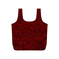 Red Roses Field Full Print Recycle Bags (s)