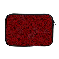 Red Roses Field Apple Macbook Pro 17  Zipper Case