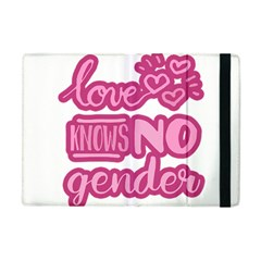 Love Knows No Gender Apple Ipad Mini Flip Case by Valentinaart