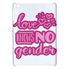 Love Knows No Gender Apple Ipad Mini Hardshell Case by Valentinaart