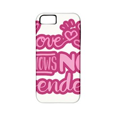 Love Knows No Gender Apple Iphone 5 Classic Hardshell Case (pc+silicone) by Valentinaart