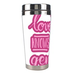 Love Knows No Gender Stainless Steel Travel Tumblers by Valentinaart