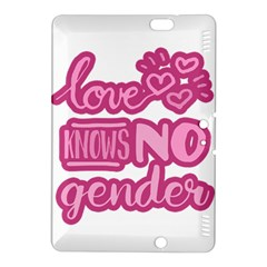 Love Knows No Gender Kindle Fire Hdx 8 9  Hardshell Case by Valentinaart
