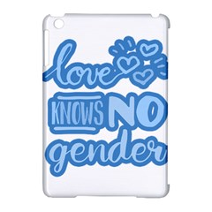 Love Knows No Gender Apple Ipad Mini Hardshell Case (compatible With Smart Cover) by Valentinaart