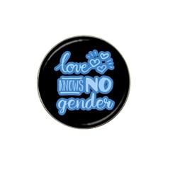 Love Knows No Gender Hat Clip Ball Marker by Valentinaart