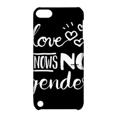 Love Knows No Gender Apple Ipod Touch 5 Hardshell Case With Stand by Valentinaart