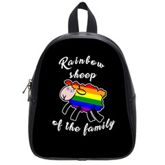 Rainbow Sheep School Bags (small)  by Valentinaart