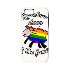 Rainbow Sheep Apple Iphone 5 Classic Hardshell Case (pc+silicone) by Valentinaart