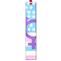 Transgender Flag Large Book Marks by Valentinaart
