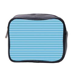 Lines Pattern Mini Toiletries Bag 2 Side by Valentinaart