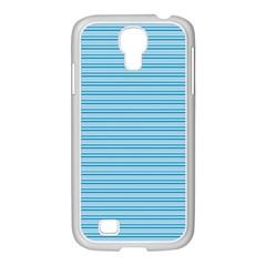 Lines Pattern Samsung Galaxy S4 I9500/ I9505 Case (white) by Valentinaart