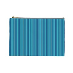 Lines Pattern Cosmetic Bag (large)  by Valentinaart