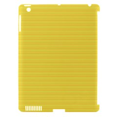 Lines Pattern Apple Ipad 3/4 Hardshell Case (compatible With Smart Cover) by Valentinaart