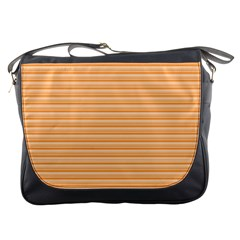 Lines Pattern Messenger Bags by Valentinaart