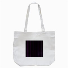 Lines Pattern Tote Bag (white) by Valentinaart