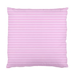 Lines Pattern Standard Cushion Case (one Side) by Valentinaart