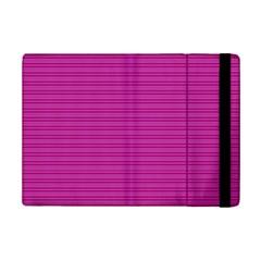 Lines Pattern Ipad Mini 2 Flip Cases by Valentinaart