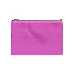 Lines Pattern Cosmetic Bag (medium)  by Valentinaart