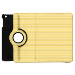 Lines Pattern Apple Ipad Mini Flip 360 Case by Valentinaart