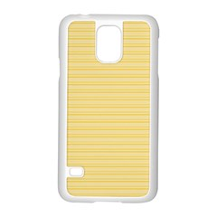 Lines Pattern Samsung Galaxy S5 Case (white) by Valentinaart