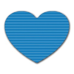 Lines Pattern Heart Mousepads by Valentinaart