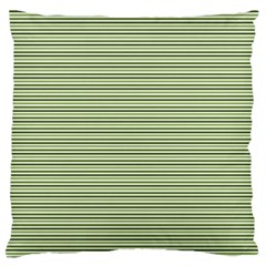 Lines Pattern Large Cushion Case (two Sides) by Valentinaart