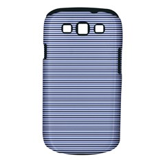 Lines Pattern Samsung Galaxy S Iii Classic Hardshell Case (pc+silicone) by Valentinaart