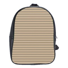 Lines pattern School Bags(Large)