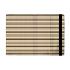 Lines Pattern Apple Ipad Mini Flip Case by Valentinaart