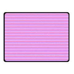 Lines Pattern Fleece Blanket (small) by Valentinaart